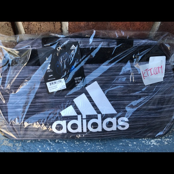 New Adidas Diablo Small Duffel Basketball Gym Bag 74145a91107d5